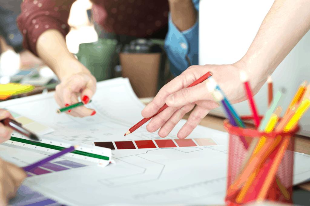 creative designers working